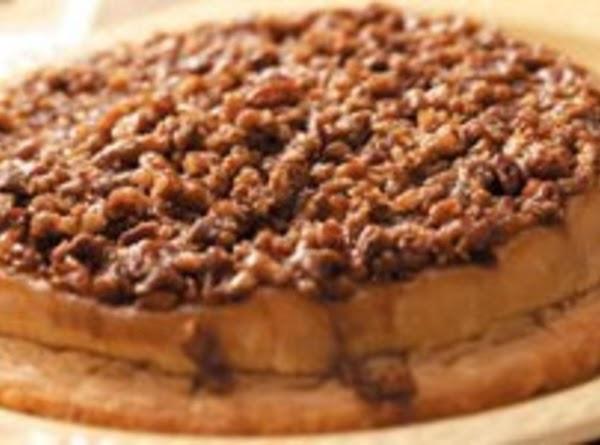 Upside-down Layered Apple Cheese Pie Recipe