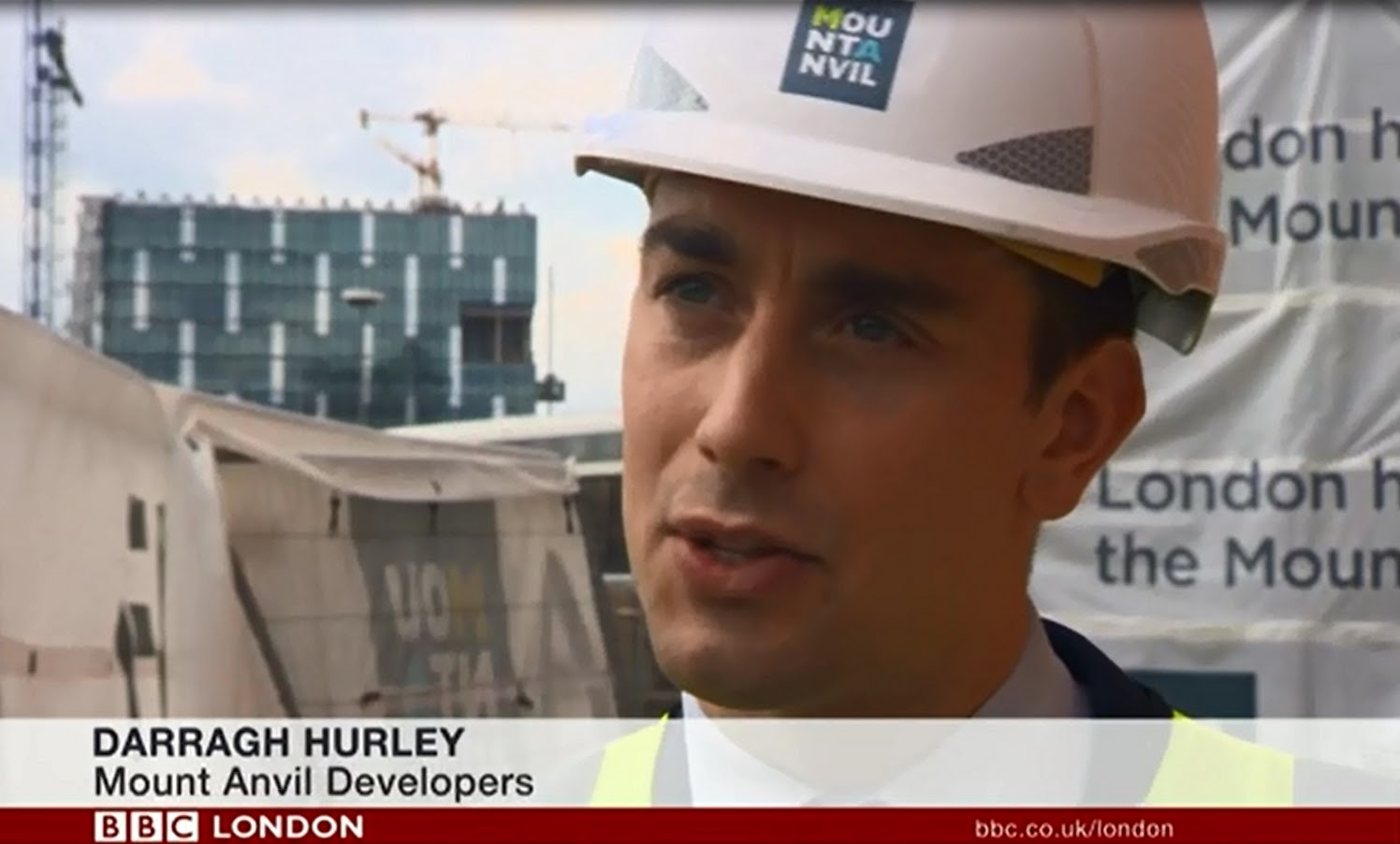 Darragh Hurley BBC News London Interview