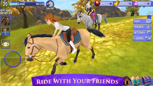 Horse Riding Tales - Ride With Friends apkpoly screenshots 4