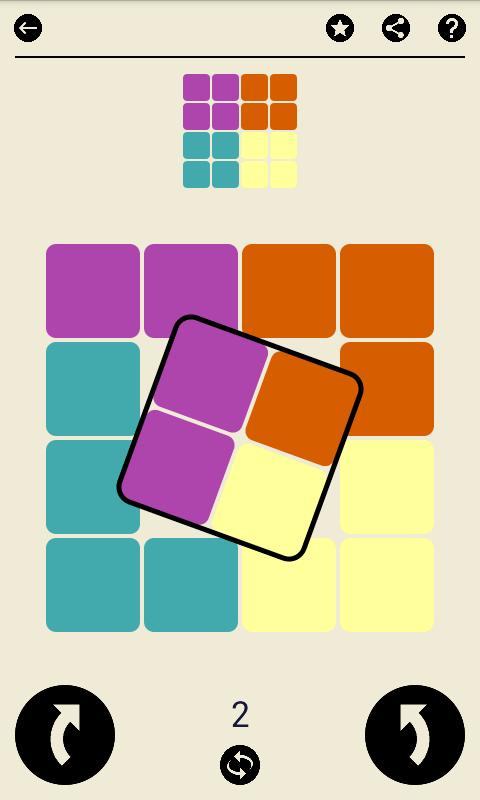ルビースクエア:論理パズルゲーム (700レベル)のおすすめ画像1