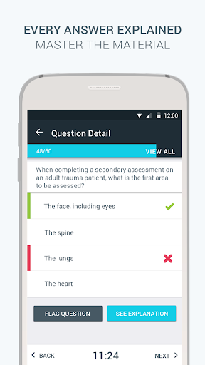 EMT-B Pocket Prep Screenshot