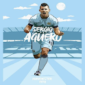 Sergio Aguero Wallpapers - Man City - Argentina icon