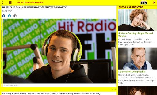HIT RADIO FFH screenshot 10