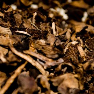 Black Mushroom Rice (Diri ak Djon Djon)