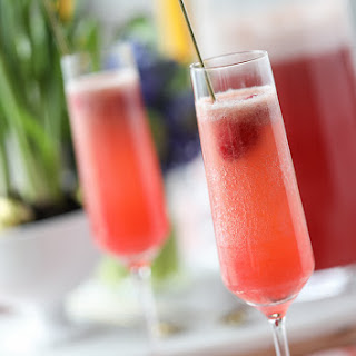Raspberry Pineapple Bellini Recipe