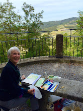 Photo: Painting in Tuscany!