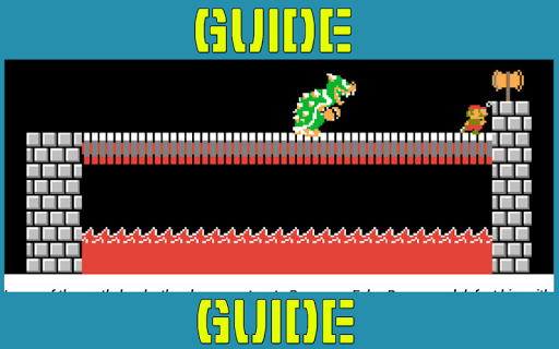 Guide For Super Mario Brothers 1.0 screenshots 4