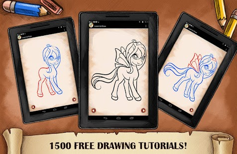 Drawing My Fairy Pony for girls - náhled