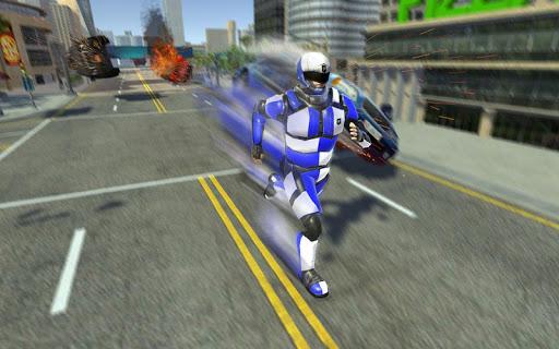 Super Speed Police Robot War: Mechs City Battle 1.2 screenshots 2