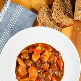 Irish Guinness Beef Stew.