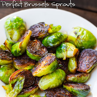 The PERFECT 10-minute Brussel Sprouts