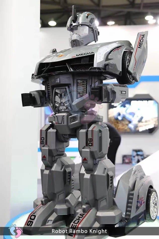 Siêu phẩm Robot Rambo Knight Cho bé 13