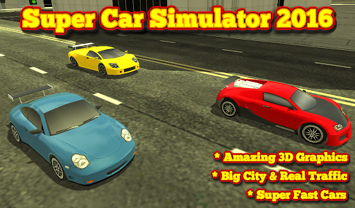 Supercar Simulator 3D