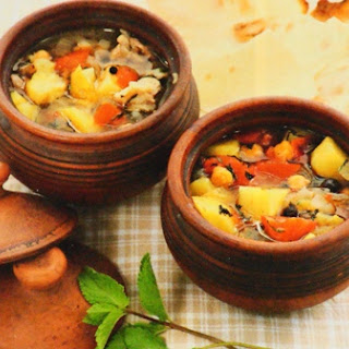 Сatfish Soup In Pots