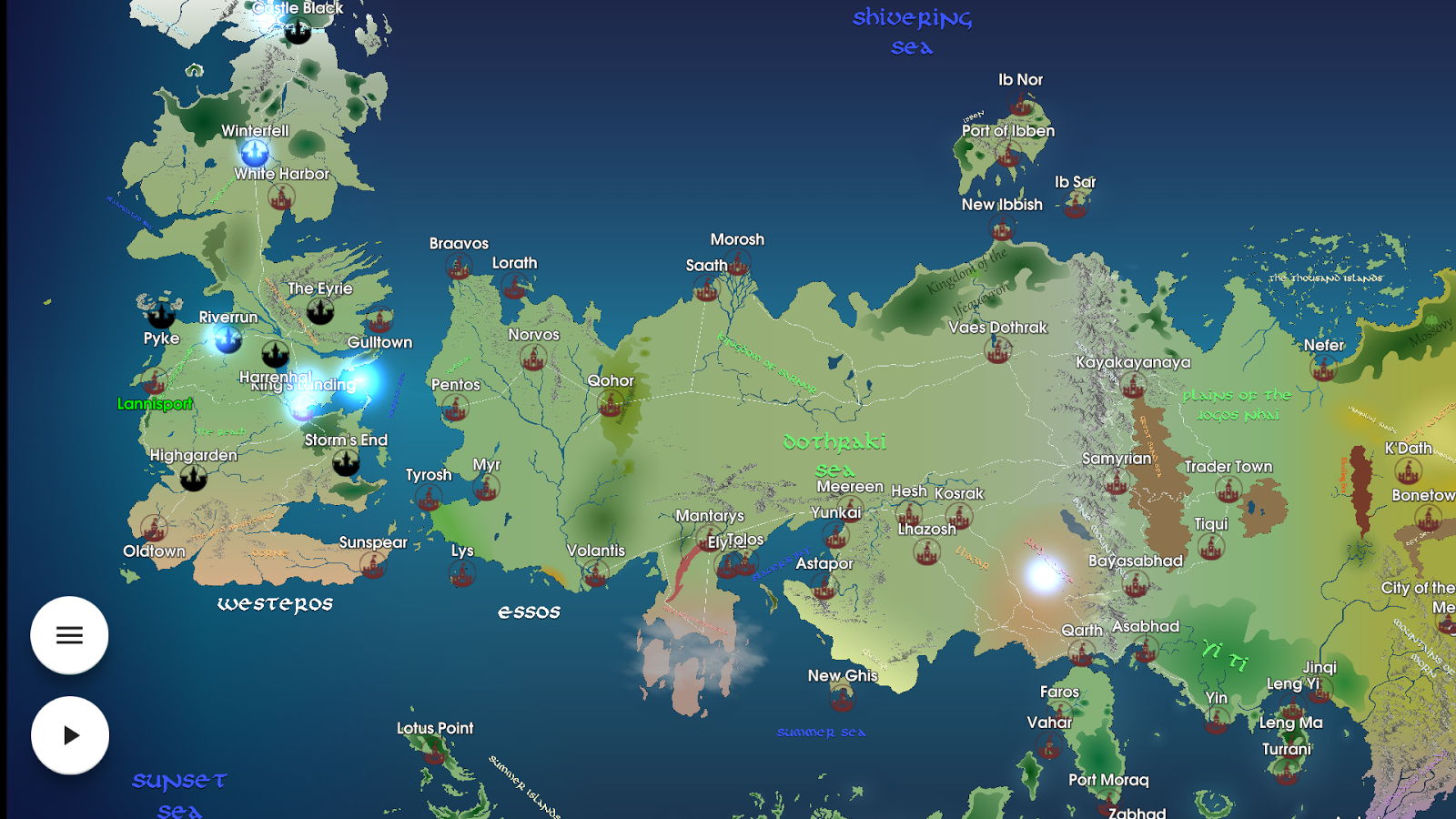Map for game of thrones android apps on google play map for game of thrones screenshot gumiabroncs Image collections