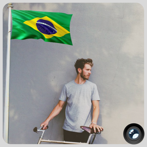 Brazil Flag In Your picture : Photo Editor