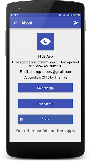 Hide App screenshot 4
