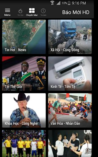 Báo Mới HD - doc bao moi tin tuc 24h screenshot 4