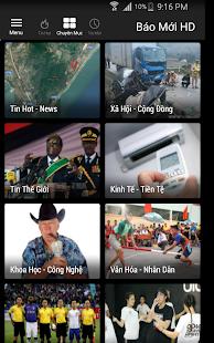 Báo Mới HD - náhled