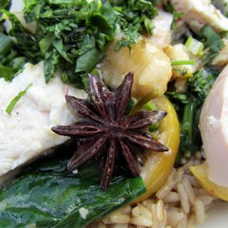 Lemongrass and Coconut Chicken