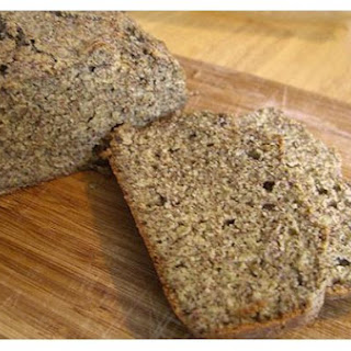 Flax, Quinoa, and Almond Meal Bread.