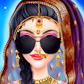 Tải Game Indian Wedding Bride Makeup Salon
