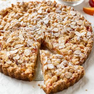 Nectarine Crumb Tart Recipe