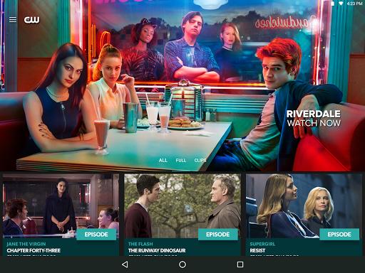 The CW Screenshot