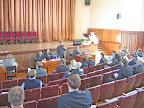 Открытие семинара. С приветственным словом выступает зам. главы администрации г.Коломны В.М.Шкурсе
