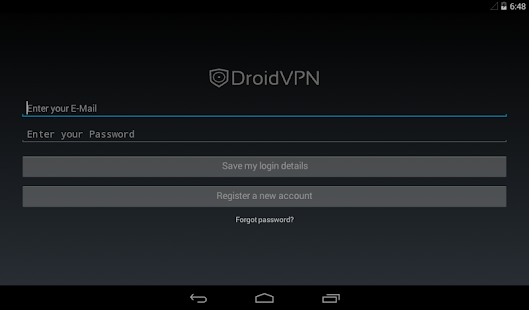 DroidVPN - Easy Android VPN Capture d'écran