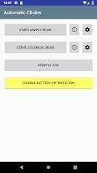 Automatic Clicker APK screenshot thumbnail 4