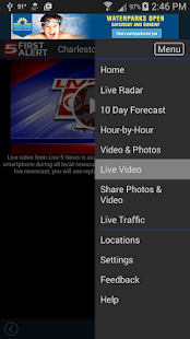 WCSC Live 5 Weather- screenshot thumbnail