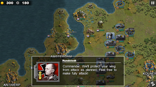 Glory of Generals 1.2.2 screenshots 1
