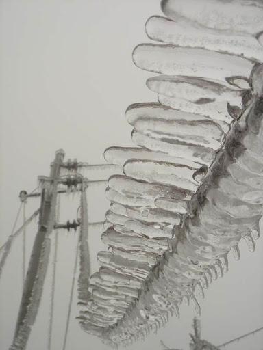 贵州铜仁市冰雨图