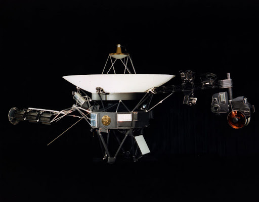 旅行者1号太空飞船-voyager-1 spacecraft
