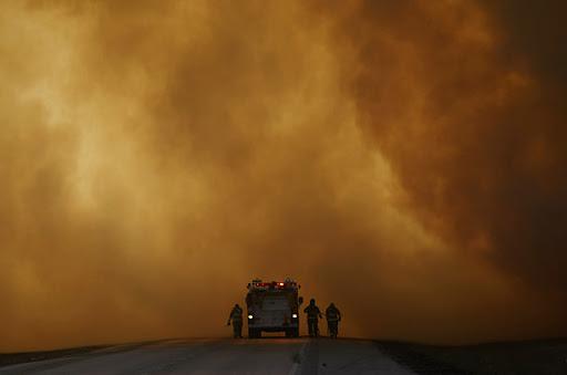 2008年1月美国田纳西州森林大火
