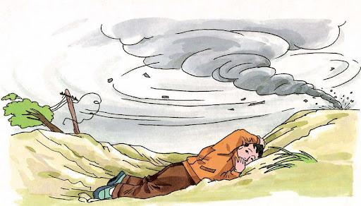 3.25 龙卷风的自救防护a