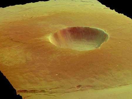 火星三维地图