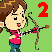 Shoot Girl's Fruits : Archery