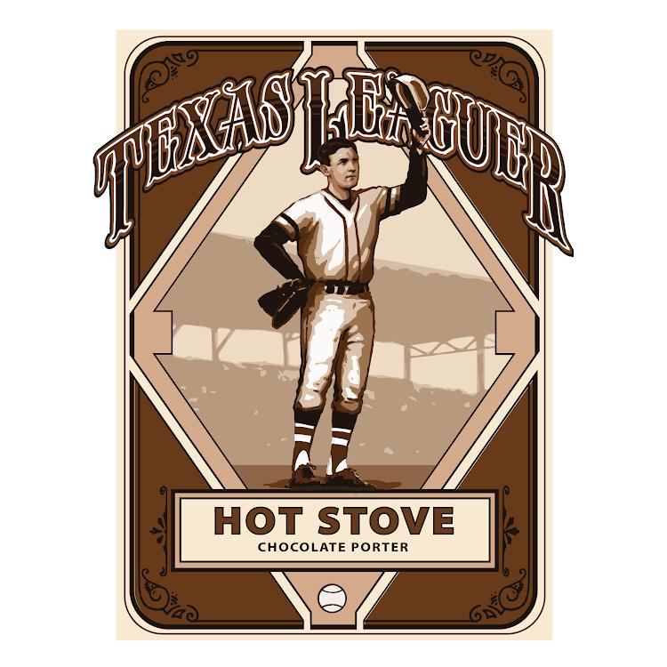 Logo of Texas leaguer The Hot Stove