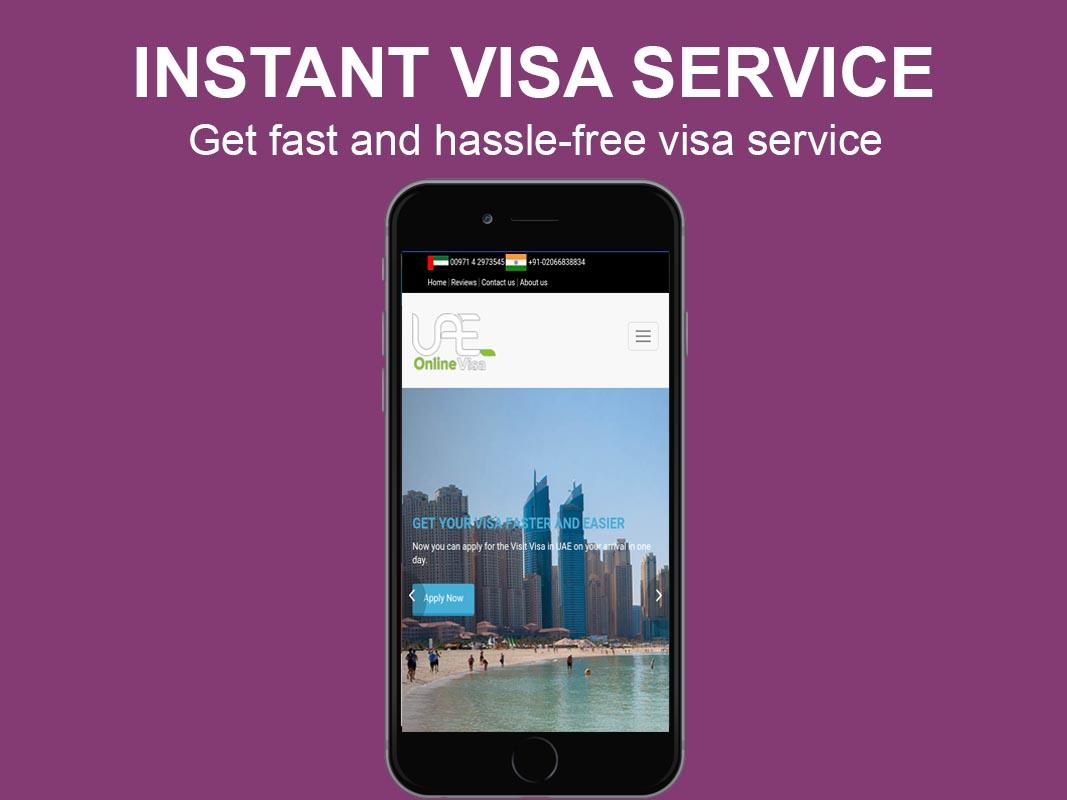 Dubai Visa- screenshot