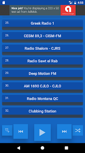Montreal Radio Stations- screenshot thumbnail