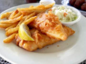 Sneaky Cheatin Fish & Chips Recipe