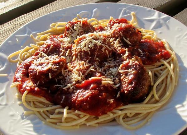 Spaghetti And Meatballs For Two Recipe