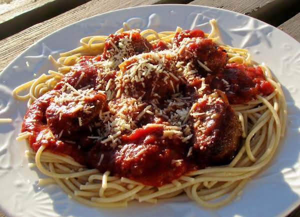 Spaghetti And Meatballs For Two Recipe
