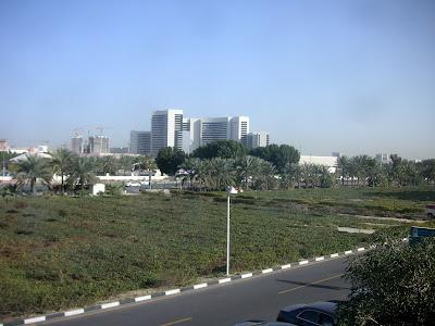 ドバイ・ホテルからの眺め1