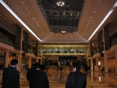 ドバイ・コンベンションセンター内