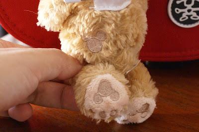 Duffyの足の裏