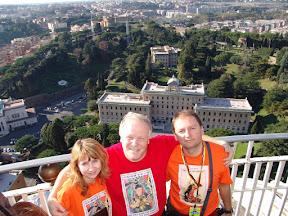 Борис Золотов с моими друзьями Инной Нефедовской и Виктором Михайловым. Европа