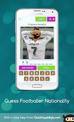 Guess Footballer Nationality APK screenshot thumbnail 1